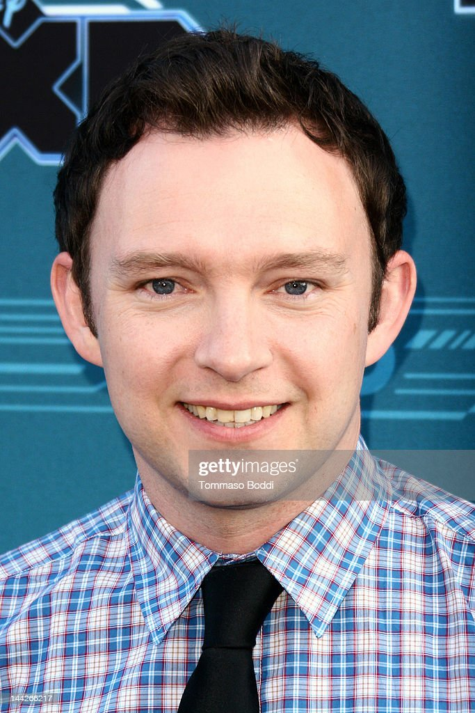 Actor <a gi-track='captionPersonalityLinkClicked' href=/galleries/search?phrase=Nathan+Corddry&family=editorial&specificpeople=3959428 ng-click='$event.stopPropagation()'>Nathan Corddry</a> attends the Disney XD's 'TRON: Uprising' press event and reception held at the DisneyToon Studios on May 12, 2012 in Glendale, California.