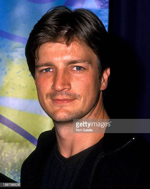 Actor Nathan Fillion attends FOX Television 2002 Upfronts Celebration on May 16 2002 at Chelsea Piers in New York City