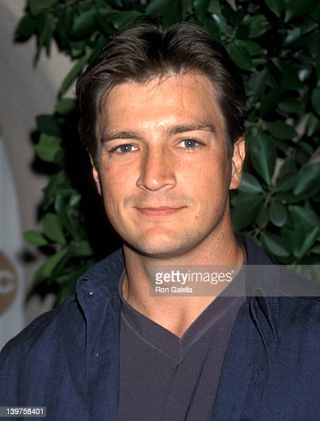Actor Nathan Fillion attends NBC Fall TCA Press Tour on July 30 1999 at the Twin Palms Restaurant in Pasadena California