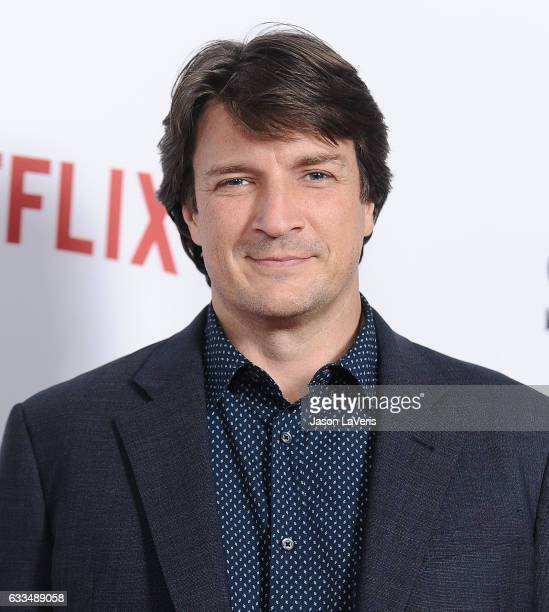 Actor Nathan Fillion attends the premiere of 'Santa Clarita Diet' at ArcLight Cinemas Cinerama Dome on February 1 2017 in Hollywood California