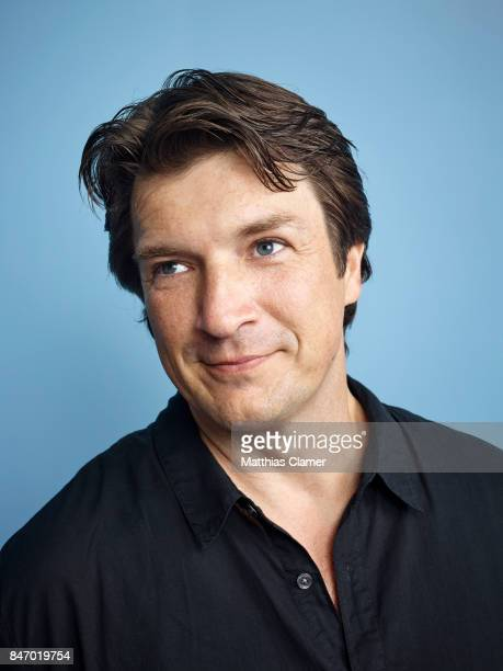 Actor Nathan Fillion from 'Con Man' is photographed for Entertainment Weekly Magazine on July 23 2016 at Comic Con in the Hard Rock Hotel in San...
