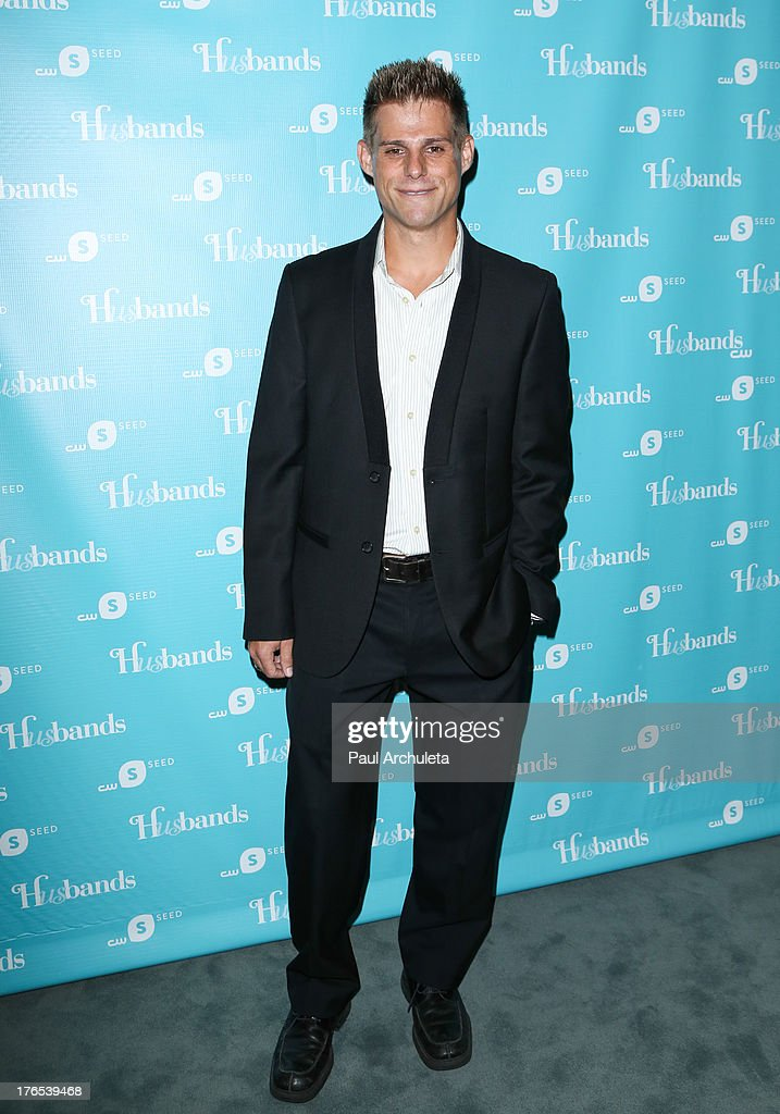 Actor Nathan Frizzell attends the premiere of 'Husbands' at The Paley Center for Media on August 14, 2013 in Beverly Hills, California.