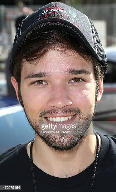 Actor Nathan Kress attends the 38th Annual Toyota Pro/Celebrity Race at the Grand Prix of Long Beach on April 18 2015 in Long Beach California