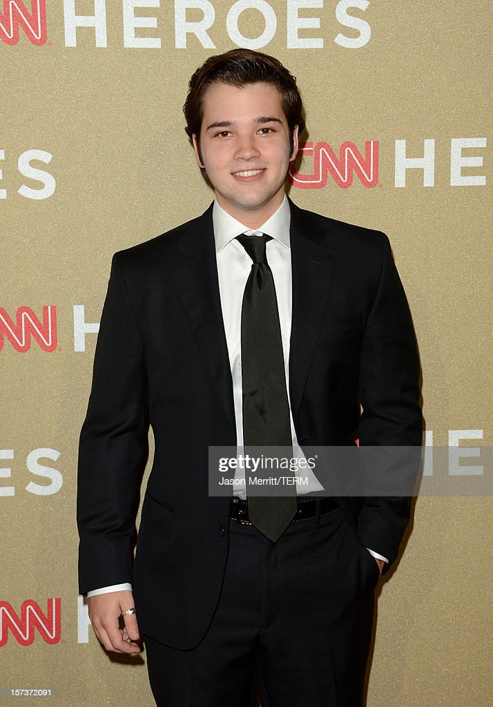 Actor <a gi-track='captionPersonalityLinkClicked' href=/galleries/search?phrase=Nathan+Kress&family=editorial&specificpeople=4408706 ng-click='$event.stopPropagation()'>Nathan Kress</a> attends the CNN Heroes: An All Star Tribute at The Shrine Auditorium on December 2, 2012 in Los Angeles, California. 23046_004_JM_0301.JPG
