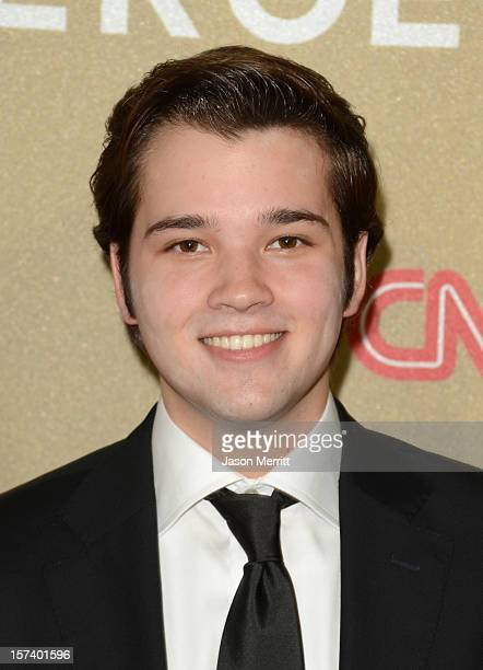 Actor Nathan Kress attends the CNN Heroes An All Star Tribute at The Shrine Auditorium on December 2 2012 in Los Angeles California...