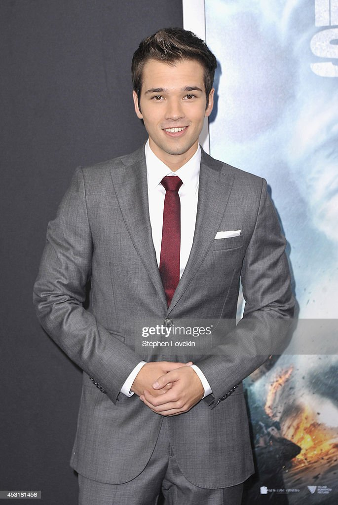 Actor Nathan Kress attends the 'Into The Storm' premiere at AMC Lincoln Square Theater on August 4, 2014 in New York City.