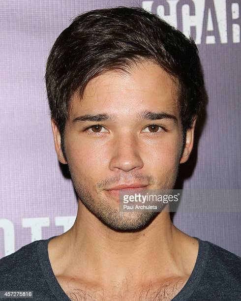 Actor Nathan Kress attends the Knott's Scary Farm celebrity VIP opening night at Knott's Berry Farm on October 2 2014 in Buena Park California