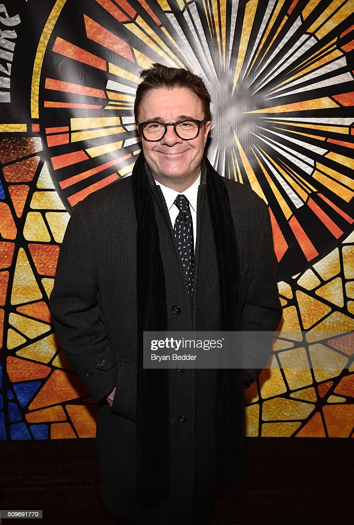 Actor Nathan Lane attends 'Mike Birbiglia: Thank God For Jokes' Opening Night at the Lynn Redgrave Theatre on February 11, 2016 in New York City.
