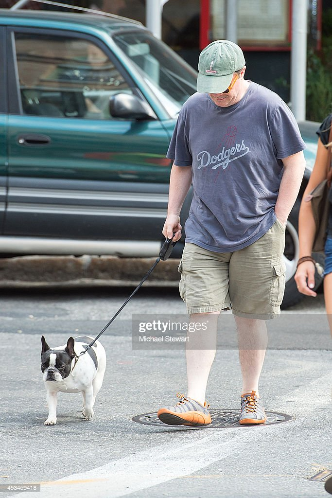 Actor <a gi-track='captionPersonalityLinkClicked' href=/galleries/search?phrase=Nathan+Lane&family=editorial&specificpeople=209367 ng-click='$event.stopPropagation()'>Nathan Lane</a> seen on the streets of Manhattan on August 10, 2014 in New York City.