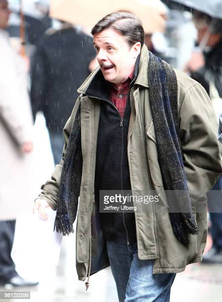 Actor Nathan Lane visits 'Late Show With David Letterman' at the Ed Sullivan Theater on March 29 2010 in New York City