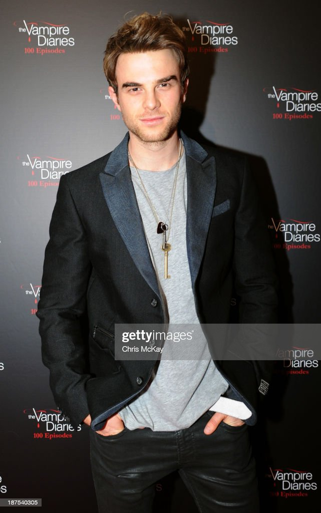 Actor Nathaniel Buzolic attends The Vampire Diaries 100th Episode Celebration on November 9, 2013 in Atlanta, Georgia.