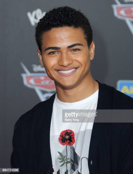 Actor Nathaniel J Potvin attends the World Premiere of Disney and Pixar's 'Cars 3' at Anaheim Convention Center on June 10 2017 in Anaheim California