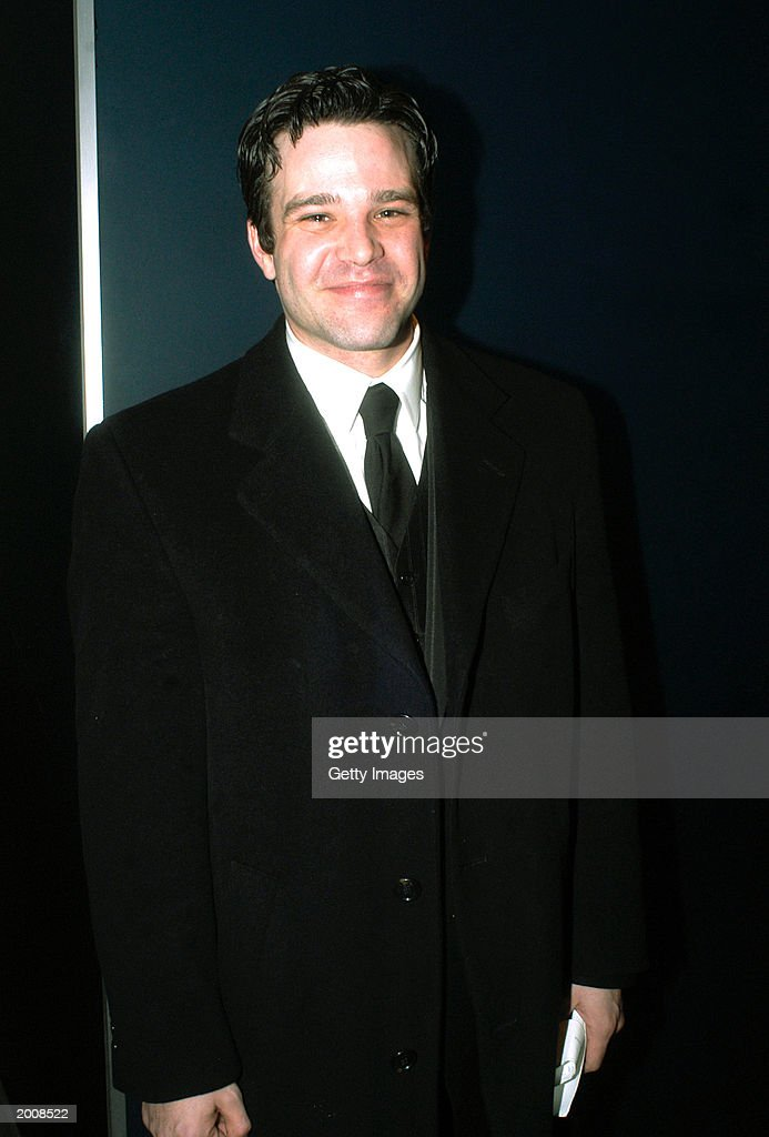 Actor <a gi-track='captionPersonalityLinkClicked' href=/galleries/search?phrase=Nathaniel+Marston&family=editorial&specificpeople=3114140 ng-click='$event.stopPropagation()'>Nathaniel Marston</a>, of 'One Life To Live,' appears at the after party for the 30th Annual Daytime Emmy Awards at the Sea Grill Restaurant May 16, 2003 in New York City.