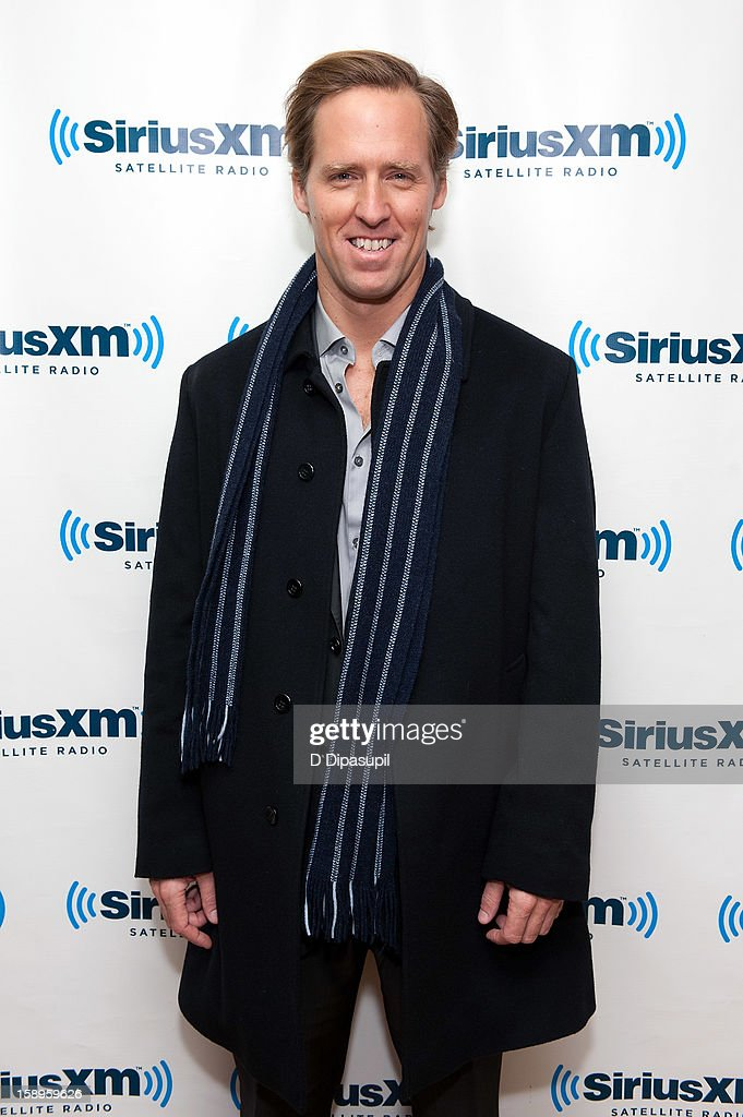 Actor Nathaniel 'Nat' Faxon visits the SiriusXM Studios on January 4, 2013 in New York City.
