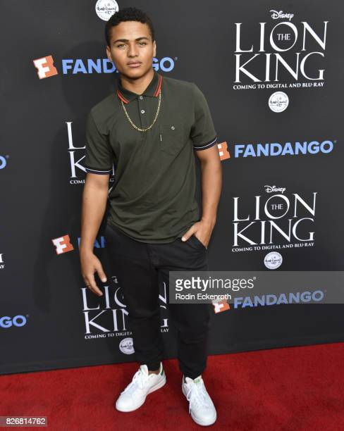 Actor Nathaniel Potvin attends 'The Lion King' singalong screening at The Greek Theatre on August 5 2017 in Los Angeles California
