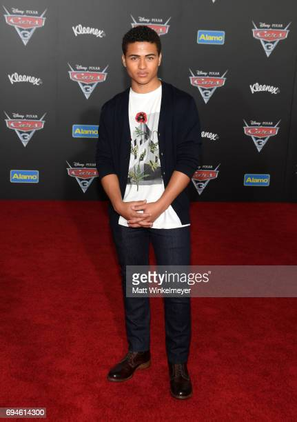 Actor Nathaniel Potvin attends the premiere of Disney and Pixar's 'Cars 3' at Anaheim Convention Center on June 10 2017 in Anaheim California