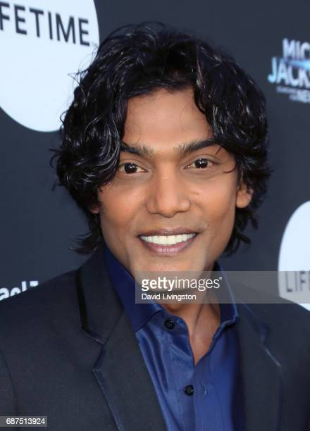 Actor Navi attends a fan gala and advance screening for 'Michael Jackson Searching for Neverland' hosted by Lifetime at Avalon on May 23 2017 in...