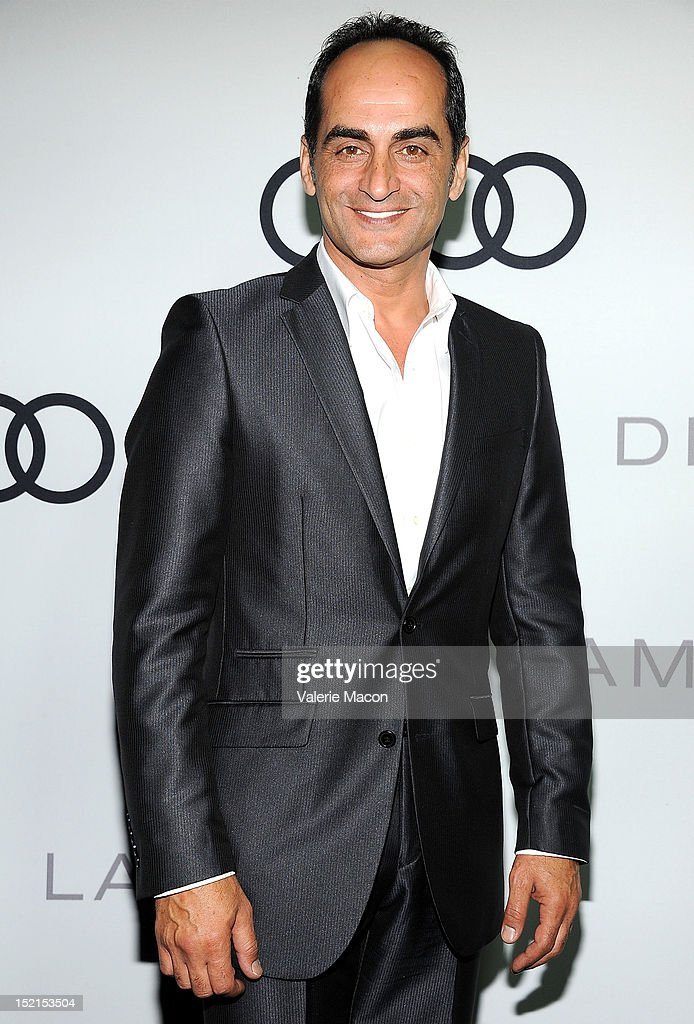 Actor Navid Negahban arrives at Audi And Derek Lam Kick Off Emmy Week 2012 party at Cecconi's Restaurant on September 16, 2012 in Los Angeles, California.