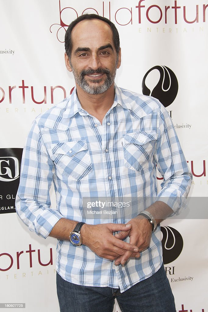 Actor Navid Negahban attends Bellafortuna Luxury Gift Suite Presented By Feri on September 17, 2013 in Beverly Hills, California.