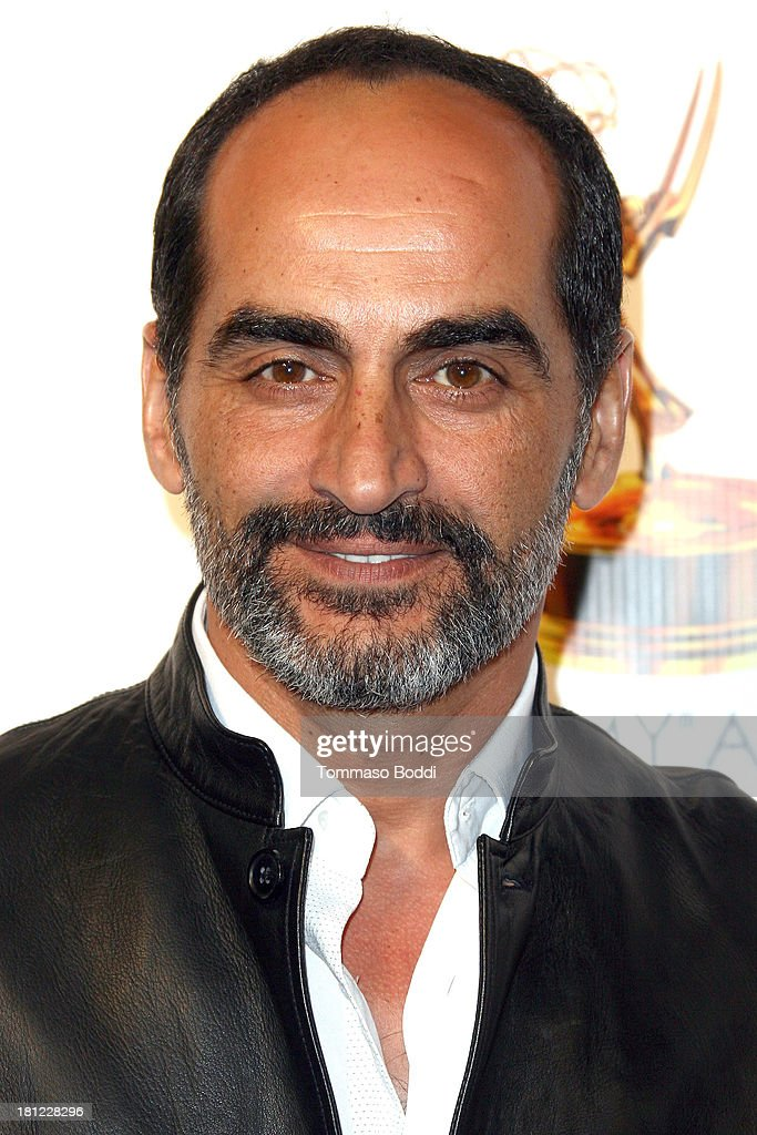 Actor Navid Negahban attends the 65th Emmy Awards Writers Nominee reception held at the Leonard H. Goldenson Theatre on September 19, 2013 in North Hollywood, California.