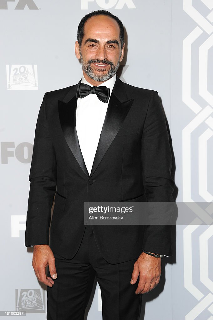 Actor <a gi-track='captionPersonalityLinkClicked' href=/galleries/search?phrase=Navid+Negahban&family=editorial&specificpeople=699830 ng-click='$event.stopPropagation()'>Navid Negahban</a> attends the Fox Broadcasting, Twentieth Century Fox Television and FX 2013 Emmy nominees celebration at Soleto on September 22, 2013 in Los Angeles, California.