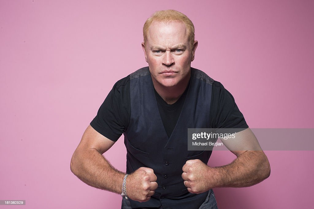 Actor <a gi-track='captionPersonalityLinkClicked' href=/galleries/search?phrase=Neal+McDonough&family=editorial&specificpeople=213199 ng-click='$event.stopPropagation()'>Neal McDonough</a> poses for a portrait at the Mark Kearney Group - 'Iced Out' Luxury Emmy Suite on September 20, 2013 in Los Angeles, California.