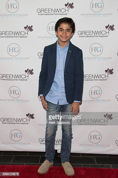 Actor Neel Sethi attends the Children's Acting Workshop at the 2016 Greenwich International Film Festival Day 3 on June 11 2016 in Greenwich...
