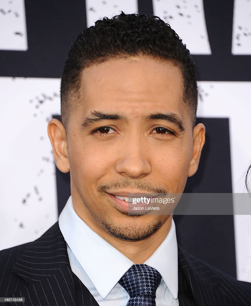 Actor Neil Brown Jr. attends the premiere of 'Straight Outta Compton' at Microsoft Theater on August 10, 2015 in Los Angeles, California.