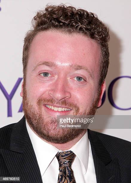 Actor Neil Casey arriving at Paul Feig's new show launch party for 'Other Space' at The London on April 14 2015 in West Hollywood California