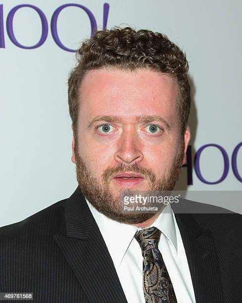 Actor Neil Casey attends the launch party for Paul Feig's new show 'Other Space' at The London on April 14 2015 in West Hollywood California