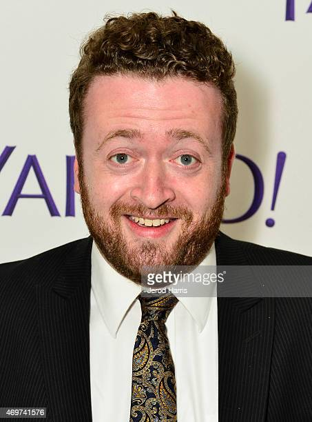 Actor Neil Casey attends Yahoo Screen Launch Party For Paul Feig's 'Other Space' at The London West Hollywood on April 14 2015 in West Hollywood...