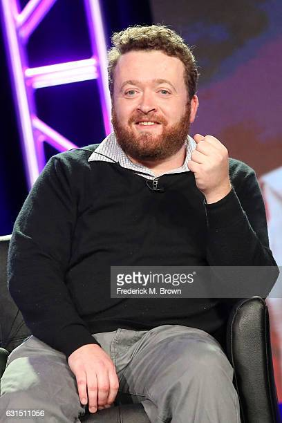 Actor Neil Casey of the television show 'Making History' speaks onstage during the FOX portion of the 2017 Winter Television Critics Association...