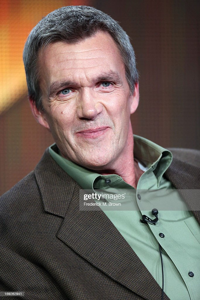 Actor <a gi-track='captionPersonalityLinkClicked' href=/galleries/search?phrase=Neil+Flynn&family=editorial&specificpeople=556309 ng-click='$event.stopPropagation()'>Neil Flynn</a> of 'the middle' speaks onstage during the ABC portion of the 2013 Winter TCA Tour at Langham Hotel on January 10, 2013 in Pasadena, California.
