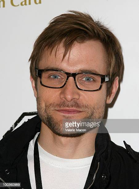 Actor Neil Hopkins arrives at the 'Lost' Series Finale Party hosted by Michael Purcell at the Orpheum Theatre on May 23 2010 in Los Angeles California