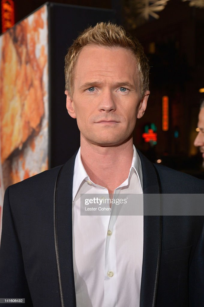 Actor Neil Patrick Harris arrives at the 'American Reunion' Los Angeles Premiere March 19 2012 in Hollywood California