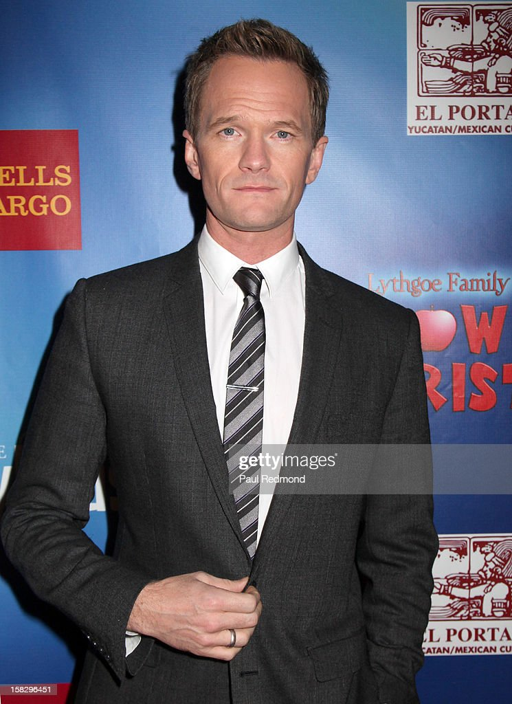 Actor Neil Patrick Harris arrives at the Pasadena Playhouse and Lythgoe Family Production's 'A Snow White Christmas' at Pasadena Playhouse on December 12, 2012 in Pasadena, California.