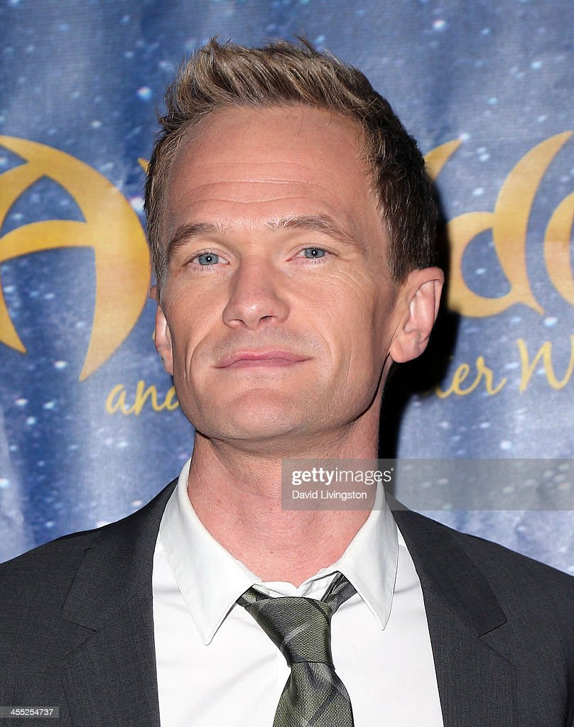 Actor <a gi-track='captionPersonalityLinkClicked' href=/galleries/search?phrase=Neil+Patrick+Harris&family=editorial&specificpeople=210509 ng-click='$event.stopPropagation()'>Neil Patrick Harris</a> attends 'Aladdin and His Winter Wish' opening night at the Pasadena Playhouse on December 11, 2013 in Pasadena, California.