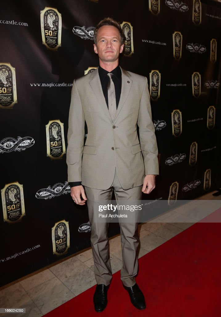 Actor <a gi-track='captionPersonalityLinkClicked' href=/galleries/search?phrase=Neil+Patrick+Harris&family=editorial&specificpeople=210509 ng-click='$event.stopPropagation()'>Neil Patrick Harris</a> attends the 45th annual AMA awards show at the Orpheum Theatre on April 7, 2013 in Los Angeles, California.