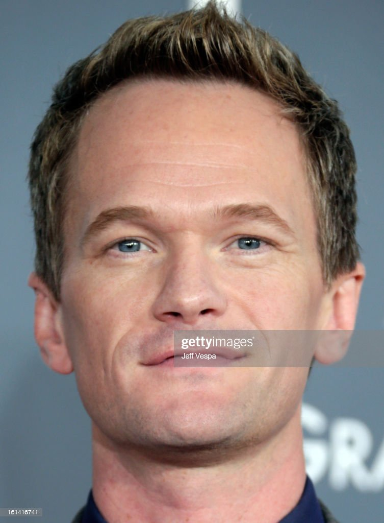 Actor Neil Patrick Harris attends the 55th Annual GRAMMY Awards at STAPLES Center on February 10, 2013 in Los Angeles, California.