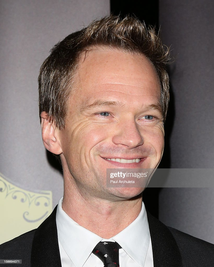 Actor Neil Patrick Harris attends the Academy Of Magical Arts 50th Anniversary Gala at The Magic Castle on January 2, 2013 in Hollywood, California.