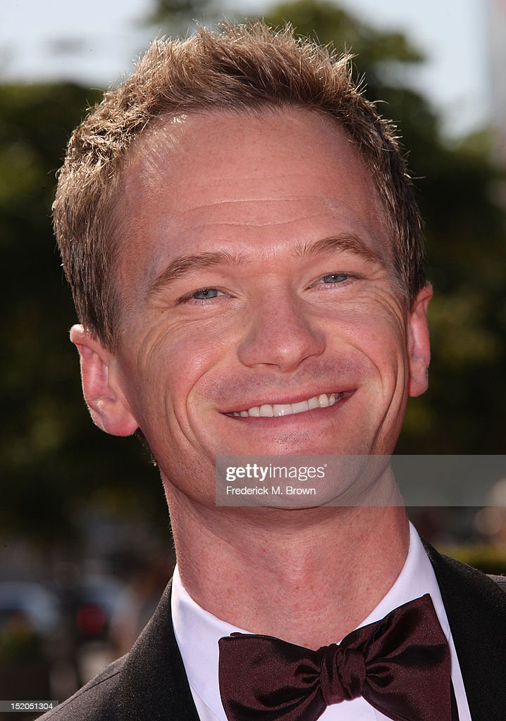 Actor <a gi-track='captionPersonalityLinkClicked' href=/galleries/search?phrase=Neil+Patrick+Harris&family=editorial&specificpeople=210509 ng-click='$event.stopPropagation()'>Neil Patrick Harris</a> attends The Academy Of Television Arts & Sciences 2012 Creative Arts Emmy Awards at the Nokia Theatre L.A. Live on September 15, 2012 in Los Angeles, California.