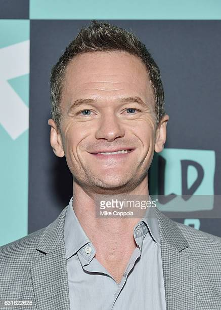 Actor Neil Patrick Harris attends the Build series to discuss the Netflix drama 'Lemony Snicket's a Series Of Unfortunate Events' at Build Studio on...