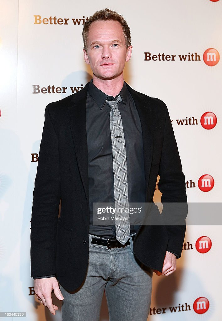Actor <a gi-track='captionPersonalityLinkClicked' href=/galleries/search?phrase=Neil+Patrick+Harris&family=editorial&specificpeople=210509 ng-click='$event.stopPropagation()'>Neil Patrick Harris</a> attends the M&M's Better With M Party at The Foundry on January 31, 2013 in New Orleans, Louisiana.