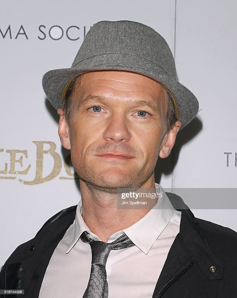 Actor Neil Patrick Harris attends the screening of 'The Jungle Book' hosted by Disney with The Cinema Society and Samsung at AMC Empire 25 theater on April 7, 2016 in New York City.