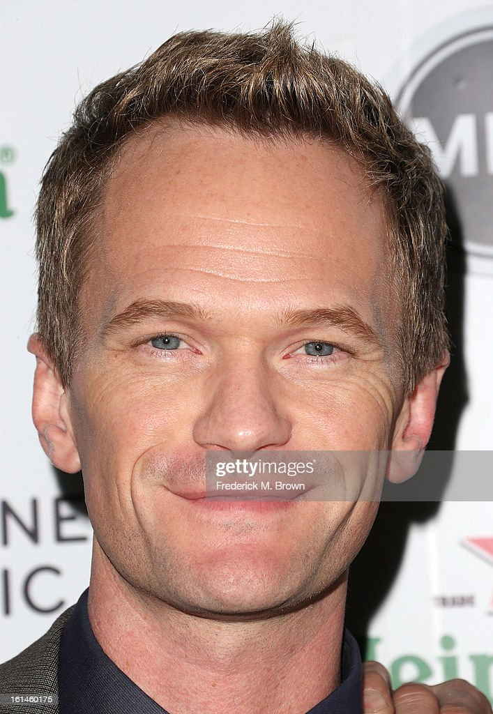 Actor <a gi-track='captionPersonalityLinkClicked' href=/galleries/search?phrase=Neil+Patrick+Harris&family=editorial&specificpeople=210509 ng-click='$event.stopPropagation()'>Neil Patrick Harris</a> attends Warner Music Group's 2013 Grammy Celebration at Chateau Marmont's Bar Marmont on February 10, 2013 in Hollywood, California.