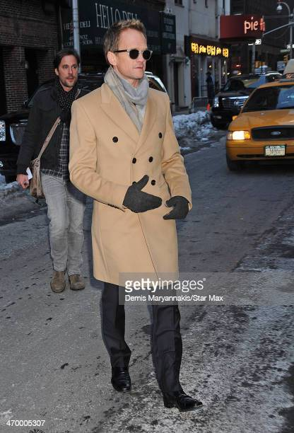 Actor Neil Patrick Harris is seen on February 17 2014 in New York City