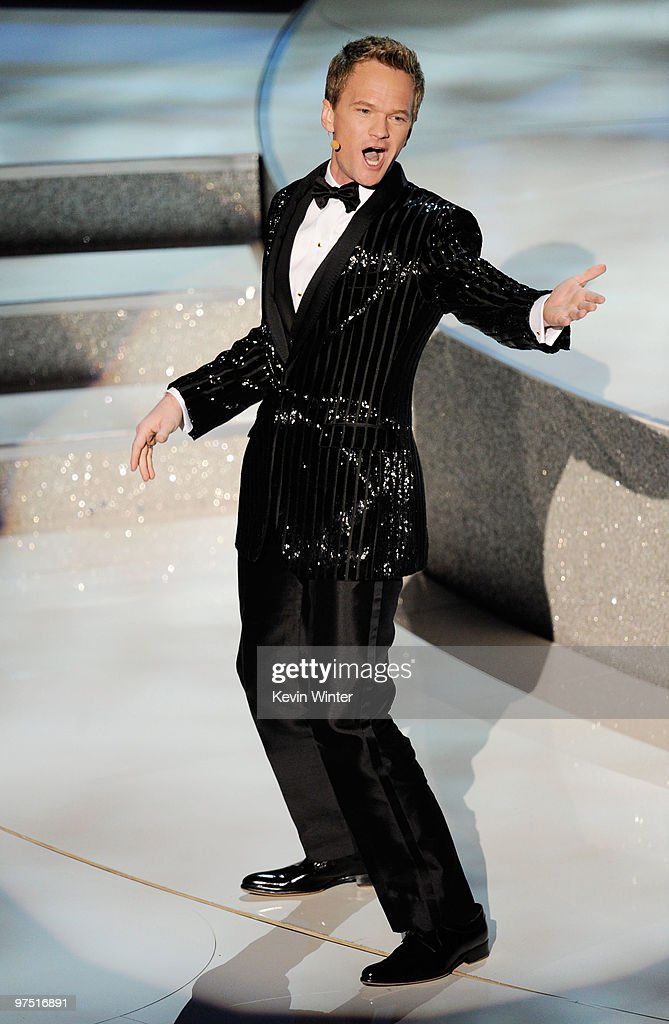 Actor Neil Patrick Harris performs onstage during the 82nd Annual Academy Awards held at Kodak Theatre on March 7 2010 in Hollywood California