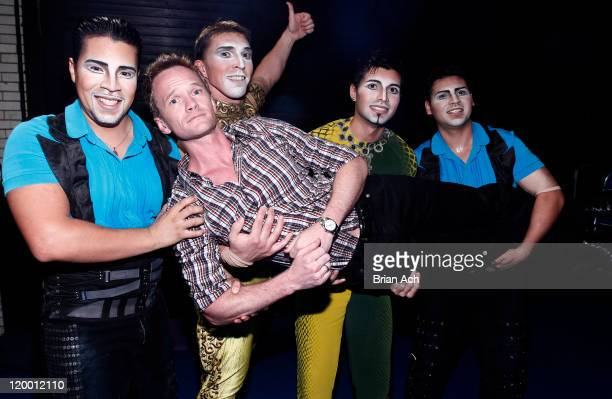 Actor Neil Patrick Harris visits Cirque Du Soleil 'Zarkana' at Radio City Music Hall on July 28 2011 in New York City