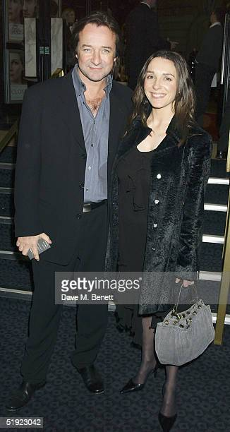 Actor Neil Pearson and guest arrive at the UK Gala Premiere of 'Closer' at the Curzon Mayfair Cinema on January 6 2005 in London