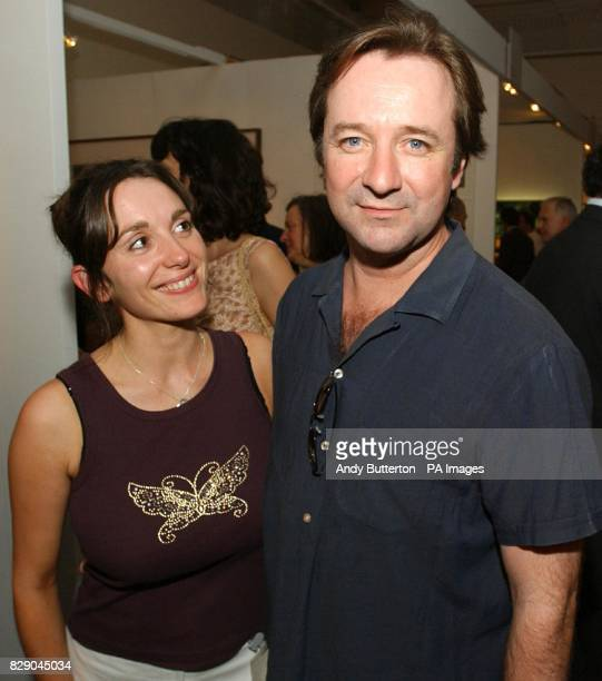 Actor Neil Pearson arrives for the private view of photolondon the first annual art fair in the UK dedicated to photography at The Royal Academy in...